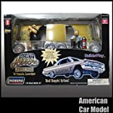 61 Impala Lowrider 1961 インパラ ローライダー ホーミーズ人形 付き Lindberg 73056 1:25スケール リンドバーグ ホッピングアクション プラモデル [並行輸入品]