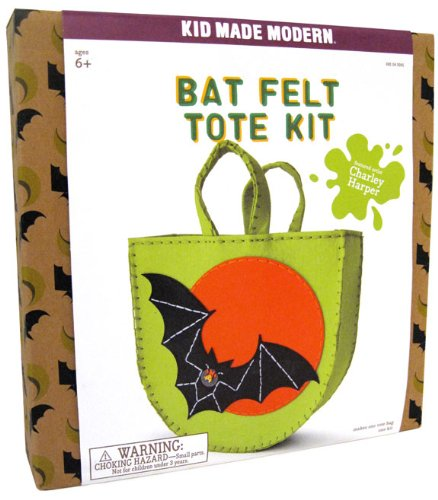 Kid Made Modern - Bat Felt Tote Kit