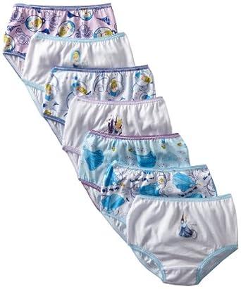 c6087d7ad Disney Girls 2-6X 7 Pack Cinderella Toddler Underwear