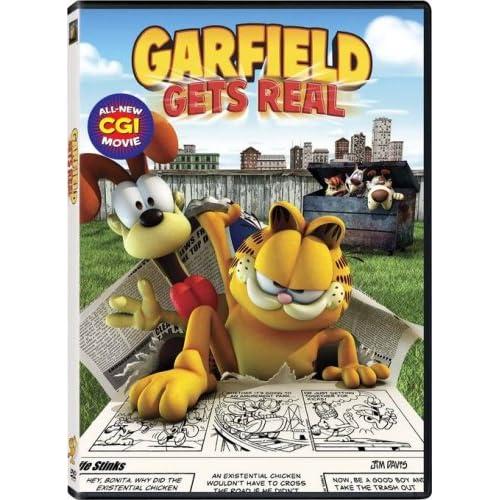 فلم Garfield Gets Real 2007 مترجم 517DyiOFvKL._SS500_