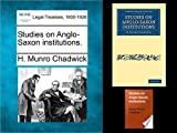 img - for Studies on Anglo-Saxon institutions book / textbook / text book