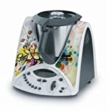 Skinjee Sticker Autocollant Decoratif Epanouissement Floral pour Vorwerck Thermomix TM31