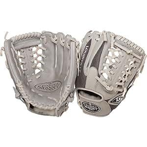 Louisville Slugger 11.5-Inch FG HD9 Baseball Infielders Gloves, Grey, Left Hand Throw