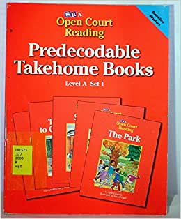 Pre Decodable Takehome Books Level A Set 1 Open Court Reading