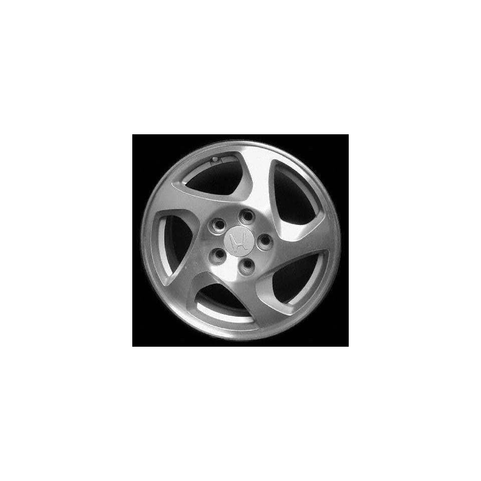 97 01 HONDA PRELUDE ALLOY WHEEL LH (DRIVER SIDE) RIM 16 INCH, Diameter 16, Width 6.5 (5 SPOKE, DRIVER SIDE), SILVER, Remanufactured (1997 97 1998 98 1999 99 2000 00 2001 01) ALY63765L10