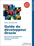 Guide du d�veloppeur Oracle