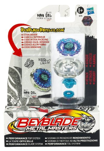 Beyblade 36499 - Trottola, Metal Masters Standard, Seconda stagione, Ray Gil