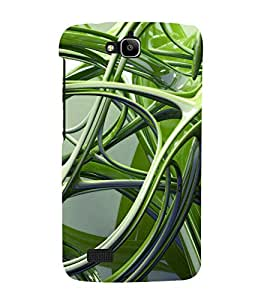 printtech Abstract Design Back Case Cover for Huawei Honor Holly