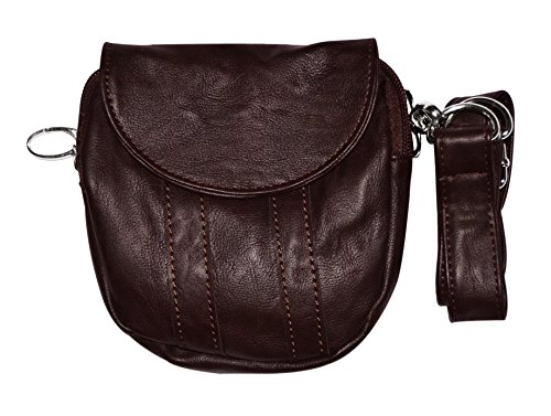 Hipzbag Hipster Dark Brown (Passport Size) front-412981