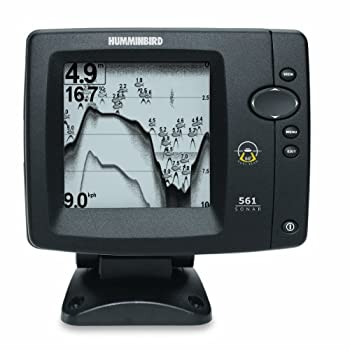 The Humminbird 561 Fishfinder features a high resolution, 12 level grayscale 320V x 320H 5-Inch display, and a dual beam 82/200KHz sonar with 300 Watts RMS power output. Features include Freeze Frame, Real Time Sonar window, selective Fish ID, echo e...
