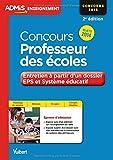 Concours Professeur des écoles - Entretien à partir d'un dossier - EPS et Système éducatif - Sujets 2014 - CRPE 2015