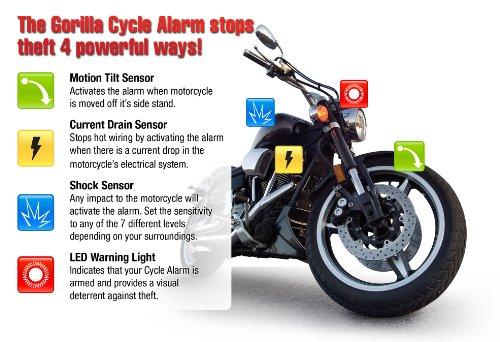 automotive parts: Gorilla Automotive 8007 Motorcycle Alarm ...