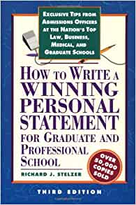 How to write a personal statement for a phd