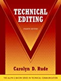 Technical Editing (032133082X) by Rude, Carolyn D.