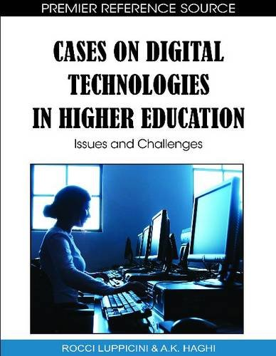 Cases on Digital Technologies in Higher Education: