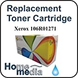 Home Media, Xerox 106R01271- Cyan Toner Cartridge for, Xerox Phaser 6110, 6110MFP, 6110N, 6110VN, 6110VB