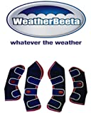 Weatherbeeta Travel Boots set of 4 **STRONG**BETTER FIT***4 COLORS (Navy/Red/White, Full)