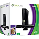 Xbox 360 4GB Console with Kinect Sensor: Includes Kinect Adventures