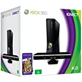Xbox 360 4GB Console with Kinect Sensor: Includes Kinect Adventuresby Microsoft