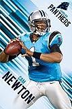 """Cam Newton Carolina Panthers NFL Poster Print 22.5 X 34"""" 2013"""