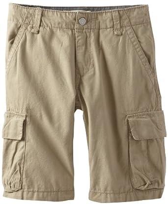 Levi's Big Boys' Troop Cargo Short, Beige, 12