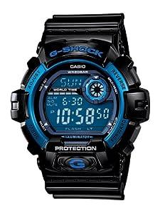 Casio Men's G8900A-1CR G-Shock Shock Resistant Black and Blue Resin Digital Sport Watch