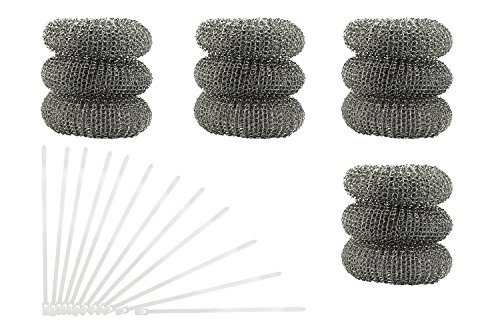12-pack-of-washing-machine-lint-traps-comes-with-12-ties-attach-to-your-washer-sink-hose-and-allow-t