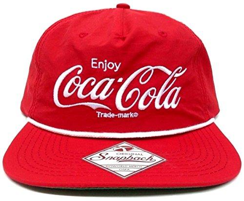 Coca Cola Snapback, Red, One Size (Coke Caps compare prices)