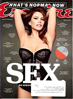 Esquire Magazine (April, 2012) Sofia Vergara Cover