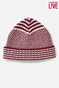 Men's L!VE Merino Wool Patterned Knit Beanie