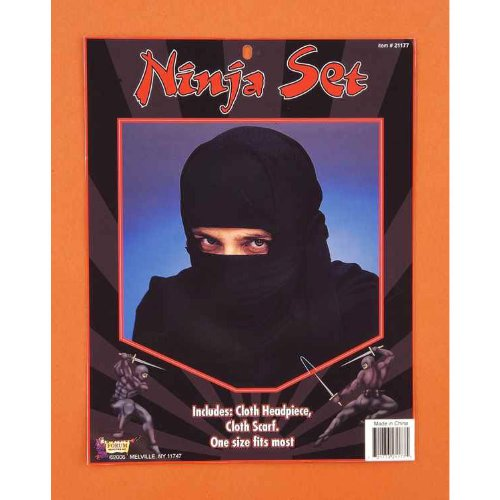 Ninja Hood Halloween Costume Accessory - 1