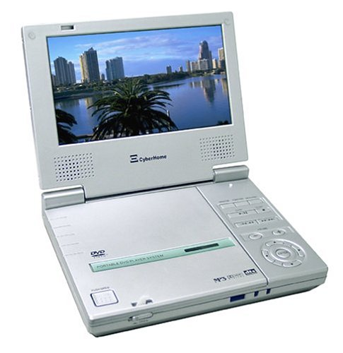 Cyberhome CH-LDV700B Portable DVD Player with 7-Inch Screen