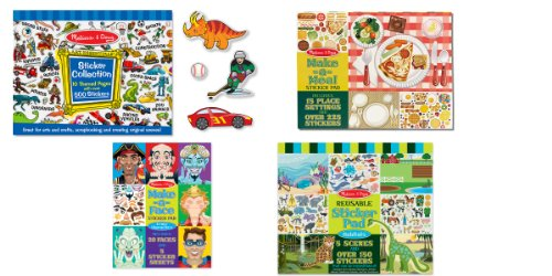 Melissa And Doug Sticker Book front-1045065