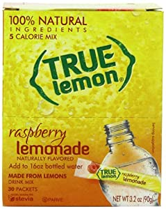 True Lemon Lemonade Bulk Pack, Raspberry, 30 Count