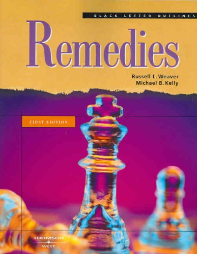 Remedies (Black Letter Outlines)