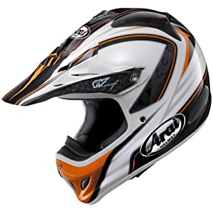 Arai Edge VX-Pro3 Motocross Motorcycle Helmet - Orange / Large