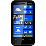 Amzer TPU Hybrid Case Cover for Nokia Lumia 620 - Solid Black