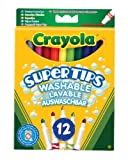 Crayola Supertips Washable - Pack of 12