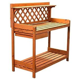 outdoor garden workbench plans