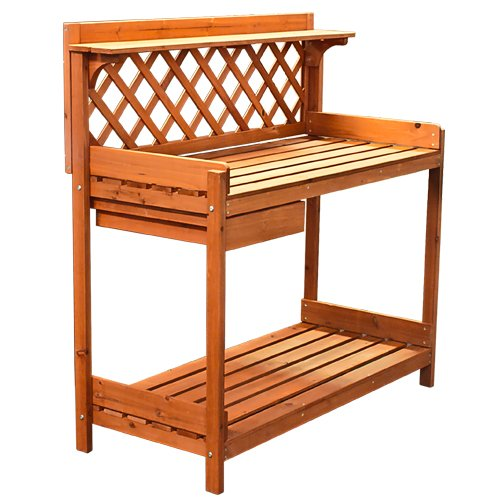 Pleasant Best Choice Products Potting Bench Outdoor Garden Work Bench Andrewgaddart Wooden Chair Designs For Living Room Andrewgaddartcom