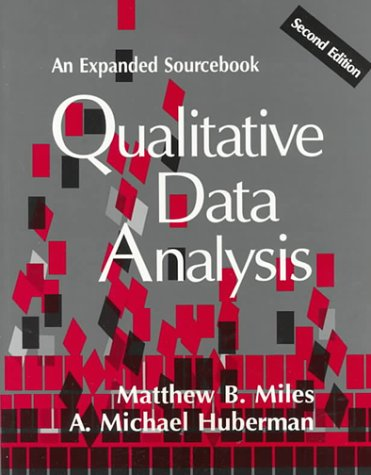 Qualitative Data Analysis: An Expanded Sourcebook(2nd...