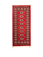 RugSense Alfombra Kashmir Rojo/Multicolor 154 x 64 cm