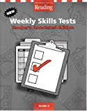 9780618618934: Houghton Mifflin Reading: Weekly Skills Test Blackline Master and Teacher Edition Grade 3
