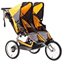 BOB Ironman Duallie Stroller, Yellow