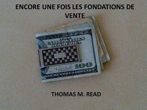 Couverture du livre Encore Une Fois Les Fondations de Vente