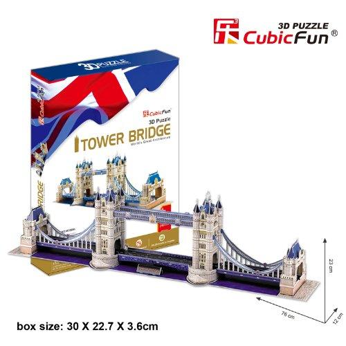 CubicFun Tower Bridge London UK 3D Puzzle