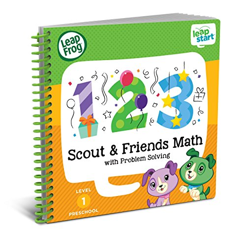 Leap Frog Leap Start Preschool Activity Book: Scout & Friends Math And Problem Solving