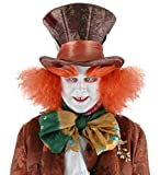 Mad Hatter with Hair Adult Hat