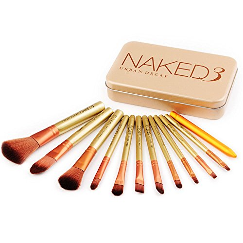 Pro 12pcs/Set Cosmetic Brush Powder Foundation Eyeshadow Makeup Brushes Tool (Benefit Lip Liner compare prices)