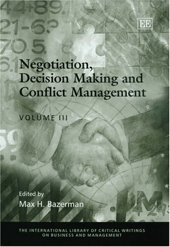 negotiation in management decision making
